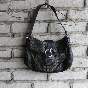 Used Black Coach Purse